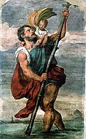 Saint Christopher, 15, titian
