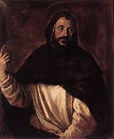 St Dominic, c.1565, titian