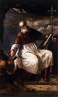 St John the Almsgiver, 1550, titian