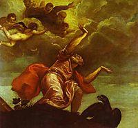 St. John the Evangelist on Patmos, 1544, titian
