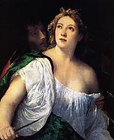 Suicide of Lucretia, 1515, titian