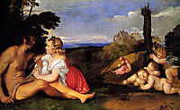 The Three Ages of Man, 1511-1512, titian