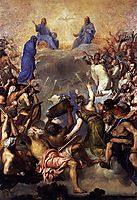 The Trinity in Glory, 1554, titian