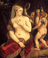 Venus at her Toilet, 1554-1555, titian