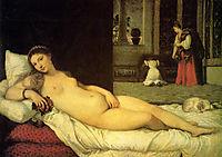 Venus of Urbino, 1538, titian