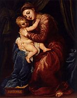Virgin and Child, c.1545, titian