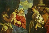 The Virgin and Child with Four Saints, titian