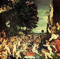 The Worship of Venus, 1518, titian