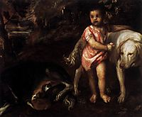 Youth with Dogs, 1576, titian