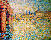 Bridge in London, toorop