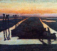 Broek in Waterland, 1889, toorop