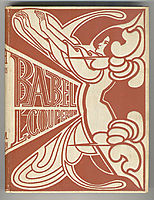 Cover for -Babel- by Louis Couperus, 1901, toorop