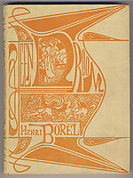 Cover for -A dream- by Henri Borel, 1899, toorop