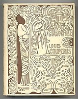 Cover for -Metamorphosis- by Louis Couperus, 1897, toorop