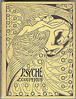 Cover for -Psyche- by Louis Couperus, 1898, toorop