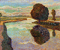 Landscape with canal, toorop