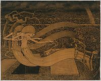 O grave, where is thy Victory, 1892, toorop