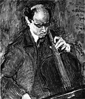 Pablo Casals, 1904, toorop