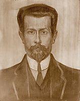 Portrait of Theo Neuhuys, c.1919, toorop