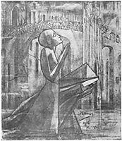 Prayer at the Road to Calvary, 1916, toorop