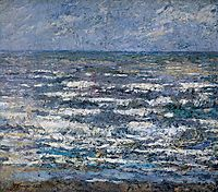 The Sea at Katwijk, 1887, toorop