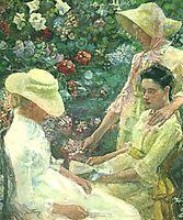 Trio fleuri, 1886, toorop