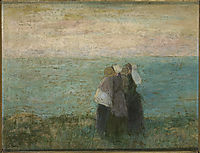 Women at the sea, c.1891, toorop