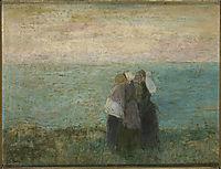 Women at the sea, c.1891, toorop