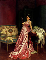 The Admiring Glance, 1868, toulmouche