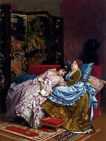 An Afternoon Idyll, 1874, toulmouche
