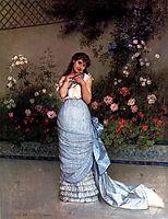 An Elegant Beauty, 1883, toulmouche