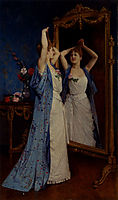 La Toilette, 1890, toulmouche