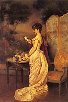 The Love Letter, 1883, toulmouche