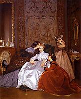 The Reluctant Bride, 1866, toulmouche