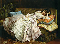 Sweet Doing Nothing, 1877, toulmouche