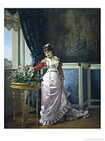 Watering the Flowers, toulmouche
