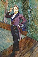The actor Henry Samary, 1889, toulouselautrec