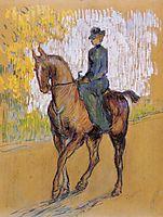 Amazone, 1899, toulouselautrec