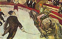At the Circus Fernando, the rider, 1888, toulouselautrec
