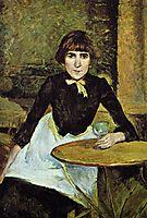 At La Bastille (Portrait of Jeanne Wenz), 1889, toulouselautrec