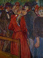 At the Moulin de la Galette, 1891, toulouselautrec