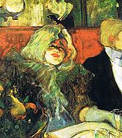 At the Rat Mort, 1899, toulouselautrec