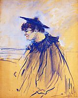 At Star , Le Havre (Miss Dolly, English Singer), 1899, toulouselautrec