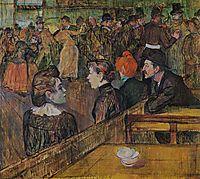 Ball at the Moulin de la Galette, 1889, toulouselautrec