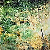 Ballet Dancers, 1885, toulouselautrec