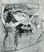 The Ballet Papa Chrysanth me , 1892, toulouselautrec