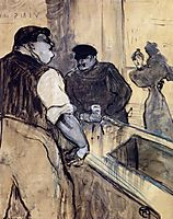 The Bartender, 1900, toulouselautrec