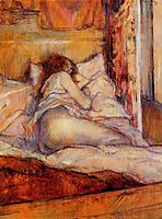 The Bed, 1898, toulouselautrec