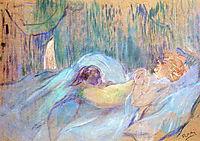 Brothel on the Rue des Moulins Rolande, 1894, toulouselautrec