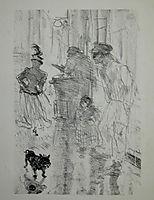 The Chestnut, 1897, toulouselautrec